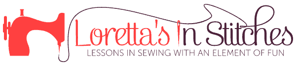 Loretta's In Stitches Logo